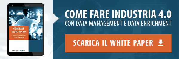 Come fare industria 4.0 con data management e data enrichment