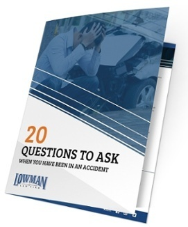 20 Questions to Ask When You Have Been in an Accident