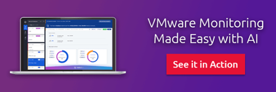VMwre monitoring made easy with AI