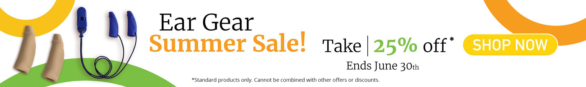 Ear Gear Summer Sale