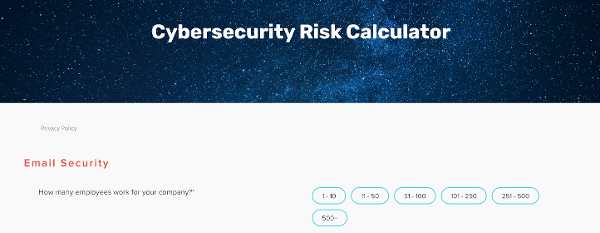 What's your cybersecurity risk?