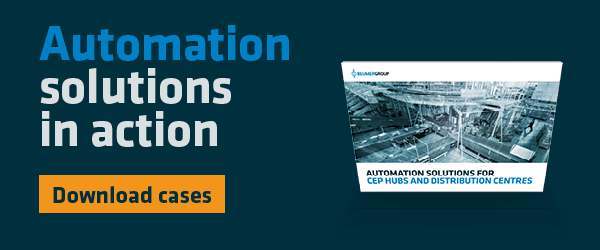 Download the case collection: Automation solutions for CEP hubs and distribution centres
