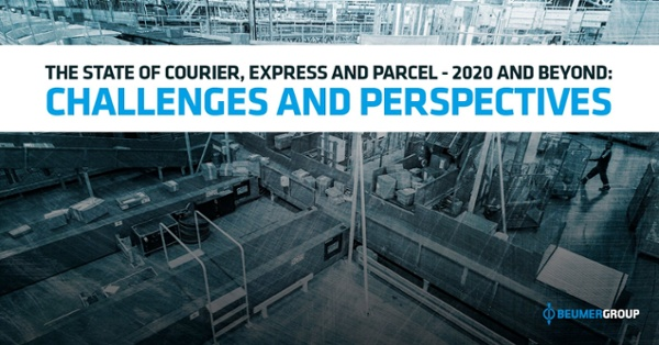 Preview of the report The State of Courier, Express and Parcel - 2020 and Beyond