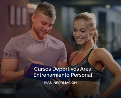 Cursos Deportivos Entrenamiento Personal