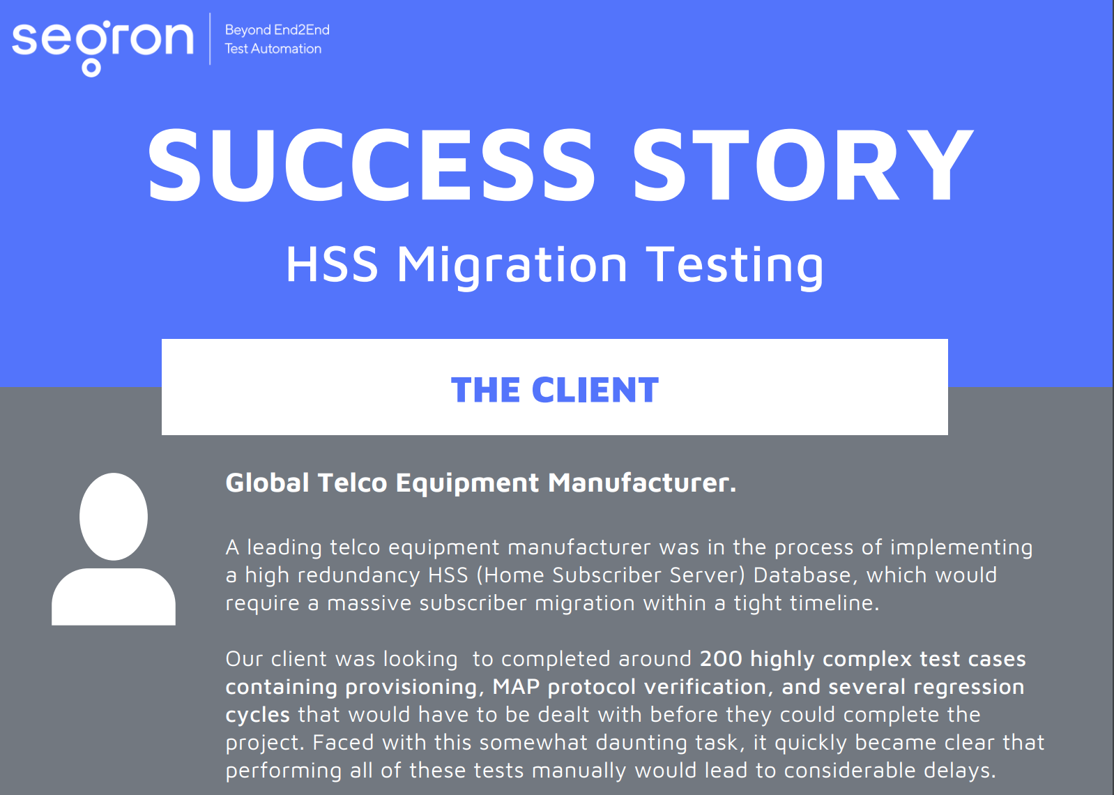 Learn more about HSS migration testing