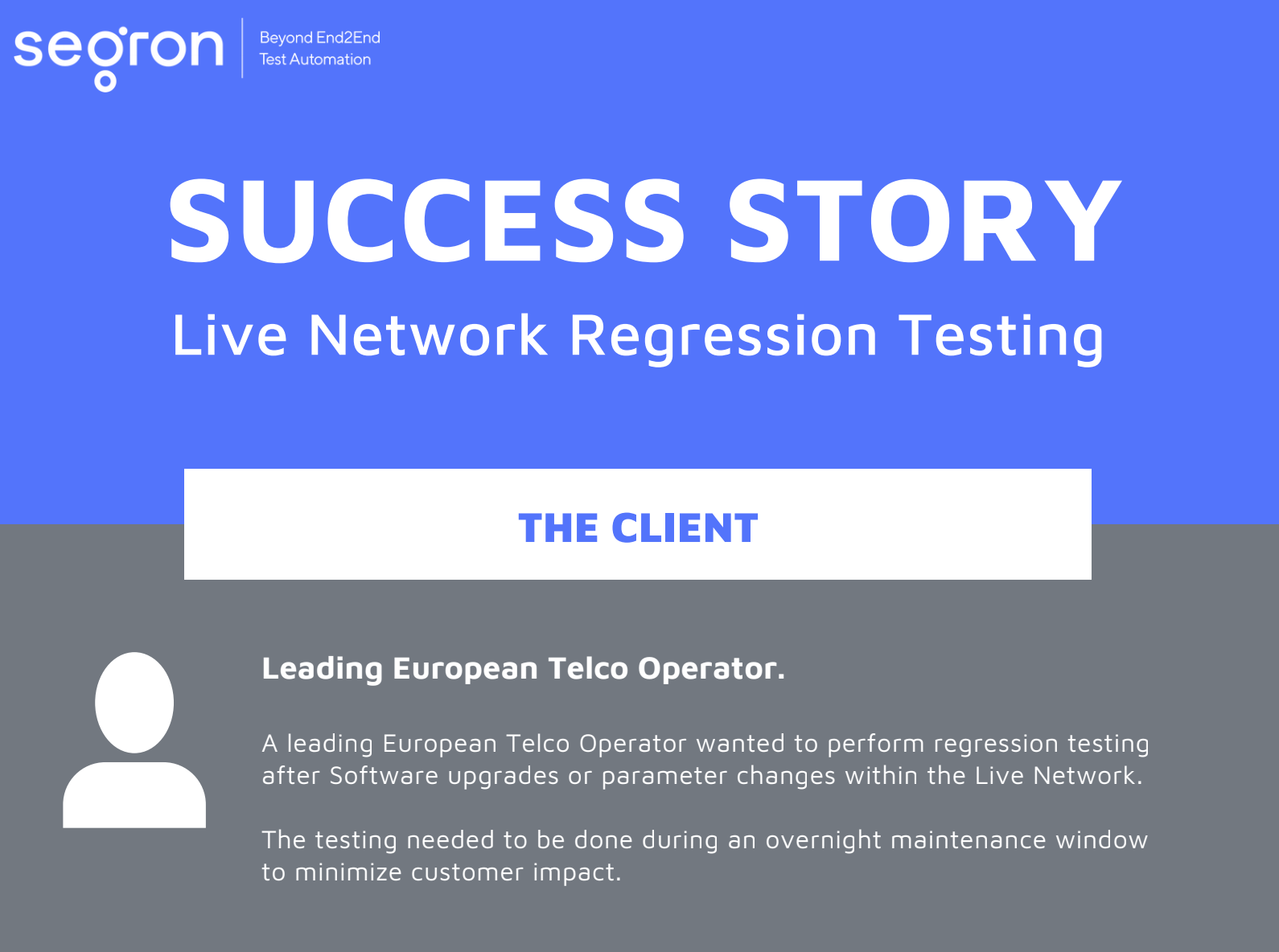 Learn More About Live Network Regression Testing