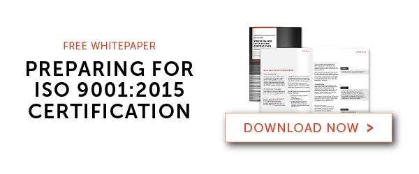 "Download Dozuki's Free White Paper on ""Preparing for ISO 9001:2015 Certification"