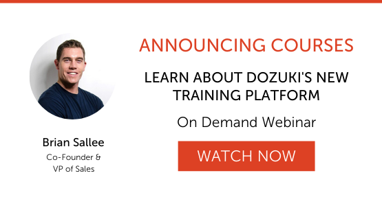 Learn About Dozuki's New Product Release - Courses
