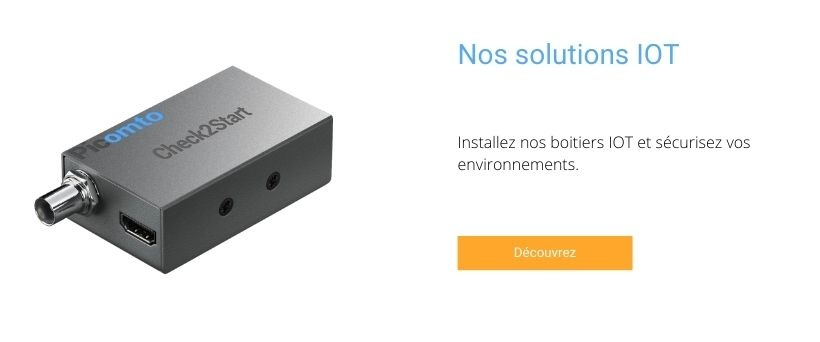 Nos solutions IOT - Check2Start