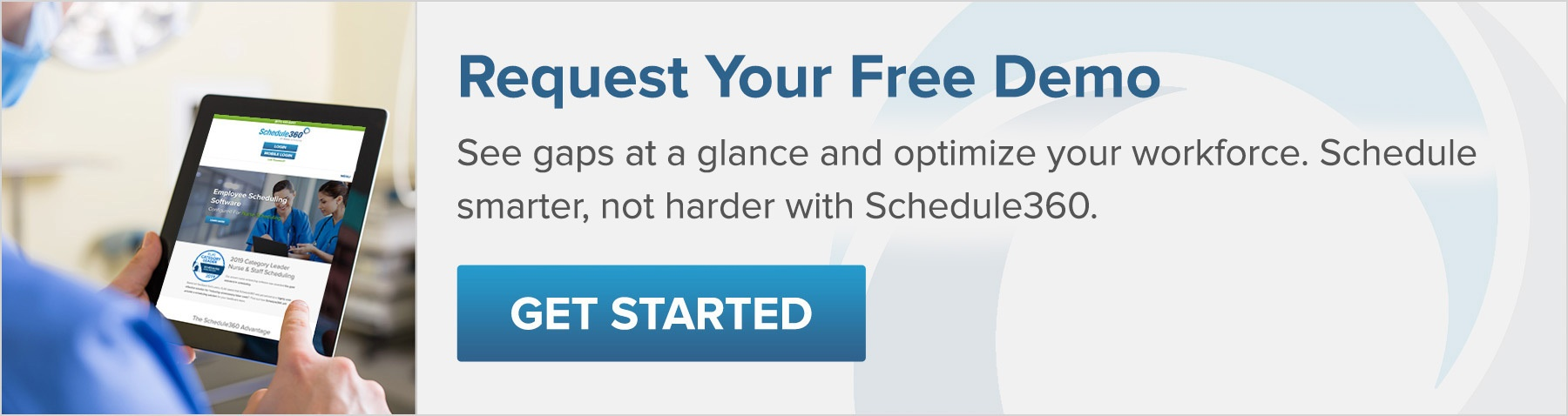 Request a demo with Schedule360 today!