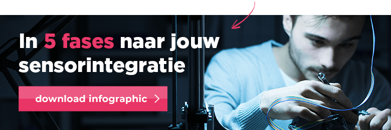 Download de infographic 'In 5 fases naar jouw sensorintegratie'