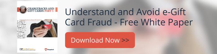 Understanding and Avoiding e-Gift Card Fraud
