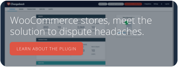 Chargeback for WooCommerce Plugin