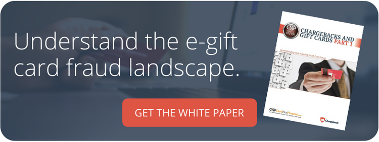 Chargebacks and Gift Cards White Paper