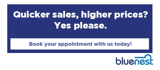 Book an appointment with a Bluenest agent to get the biggest bang for your buck in the sale of your property.