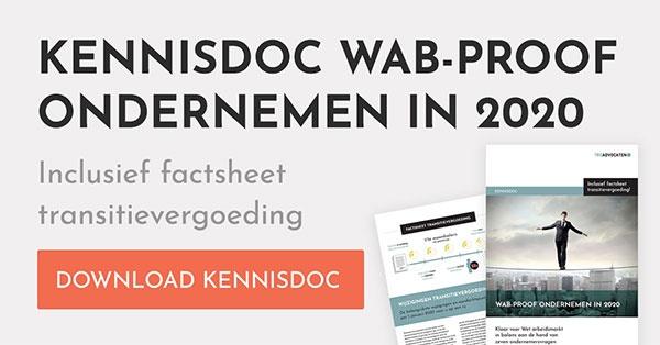 Kennisdoc WAB-proof ondernemen in 2020