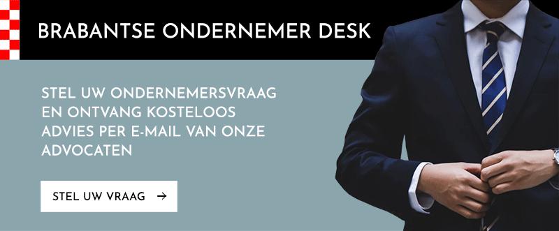 Stel uw vraag aan de Brabantse Ondernemers Desk