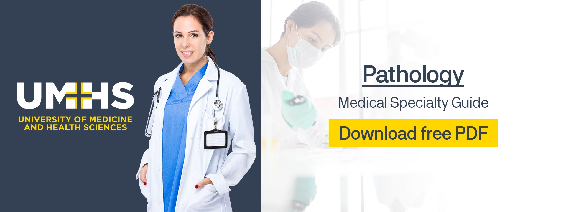 Pathology Medical Specialty Guide: Download free PDF