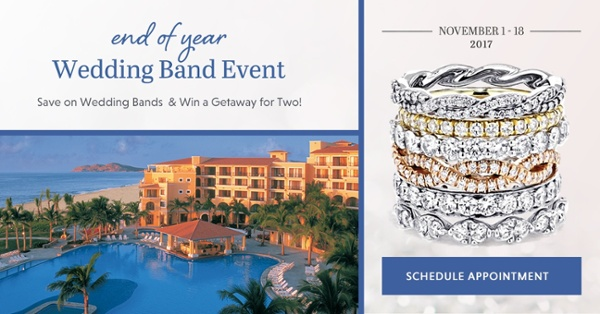 End of Year Wedding Band Event Offers