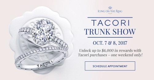 RSVP to Tacori Trunk Show October 2017 at Icing On The Ring