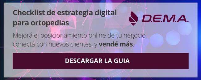 Descargar Checklist de estrategia digital para ortopedias