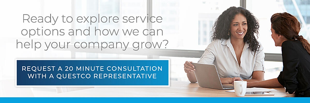 Schedule a consultation with a Questco representative