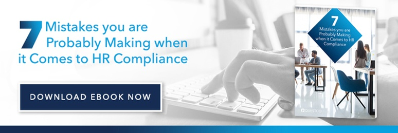 7 Mistakes you are probably making when it comes to HR Compliance