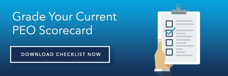 Grade Your Current PEO Scorecard