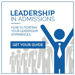 Leadership in Admissions!