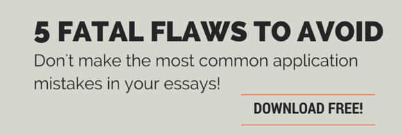 5 Fatal Flaws to Avoid in Your College Application - Download your copy today!