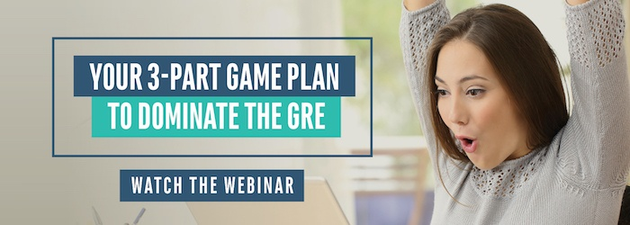 Learn how to effectively prepare for the GRE during this free webinar!