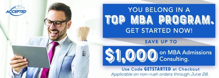 You Belong in a top MBA program! Get started now and shop our sale!