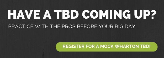 Have a TBD coming up? Practice with the pros before your big day!