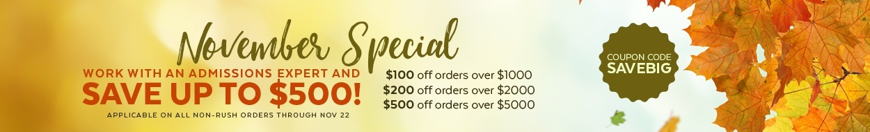 Save up to $500 on law school admissions services! Shop now >>