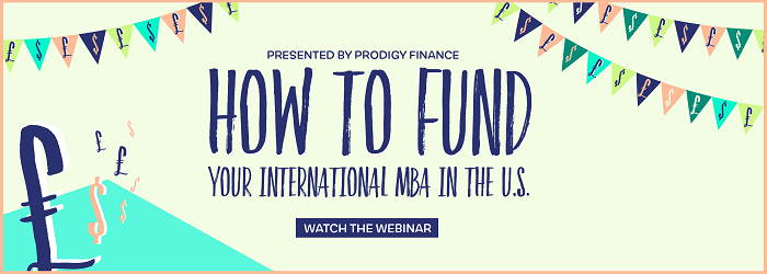 Watch the webinar: How to Fund Your International MBA in the U.S.