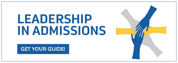 Download Leadership in Admissions today!