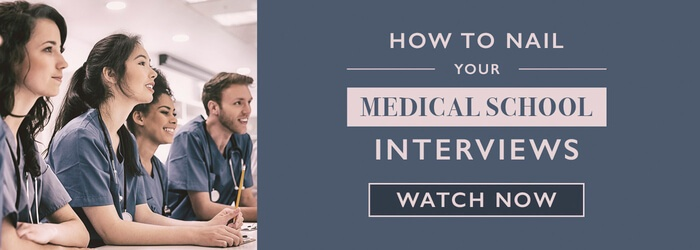How to Nail Your Medical School Interviews: Register for the webinar!