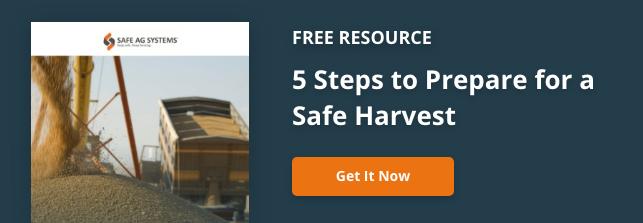 5 steps to prepare for a safe harvest