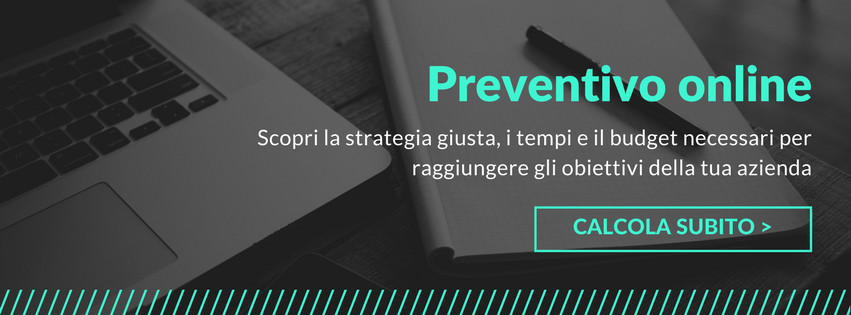 preventivo marketing online