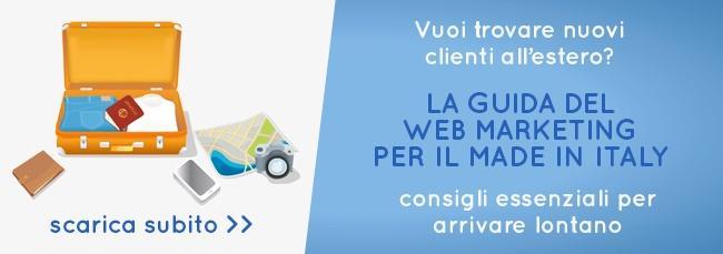 Trovare cienti all'estero per il Made in Italy