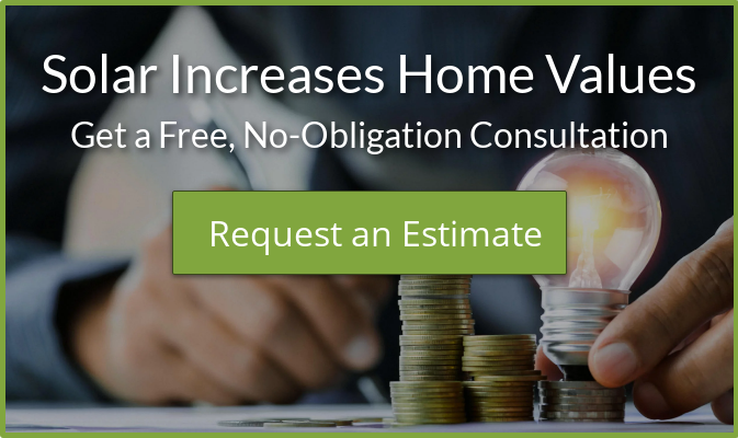 Solar Increases Home Values Get a Free, No-Obligation Consultation Request an  Estimate
