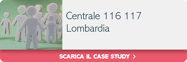 Case study centrale 116 117 in Lombardia