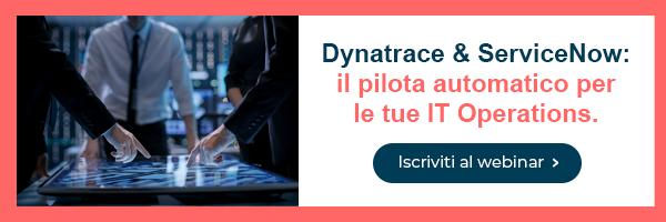 webinar Dynatrace & ServiceNow