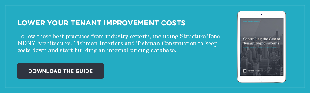 Download the guide to lowering your tenant improvement costs