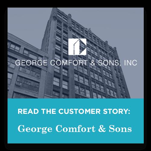 George Comfort Customer Story
