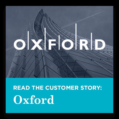 Oxford Customer Story