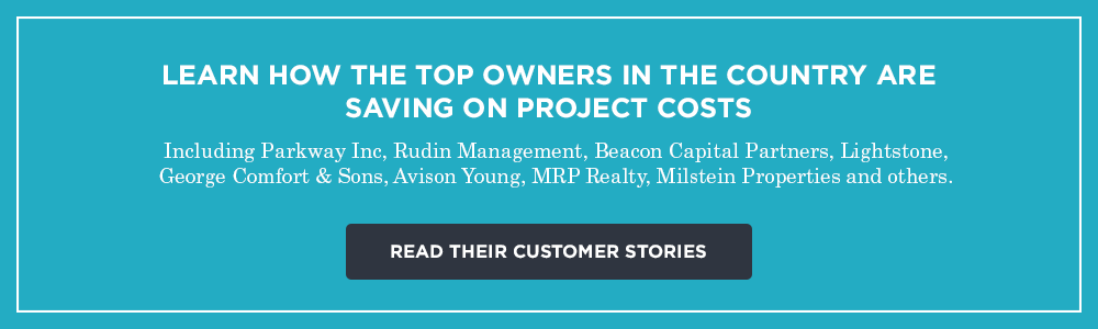 Learn how top owners save on project costs