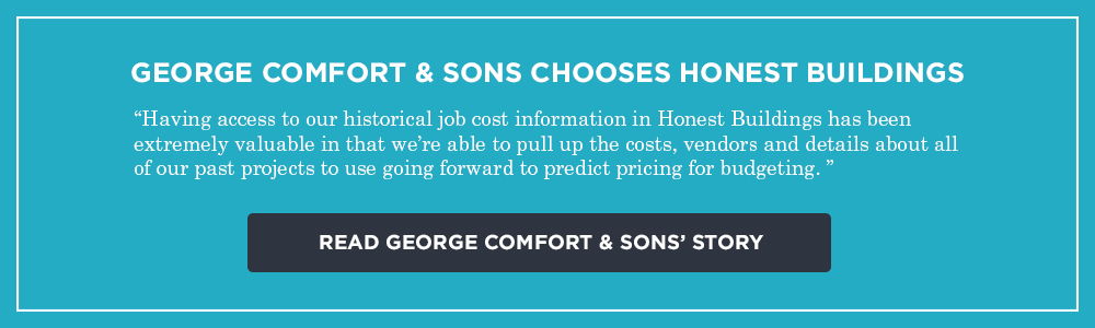 George Comfort & Sons chooses Honest Buildings