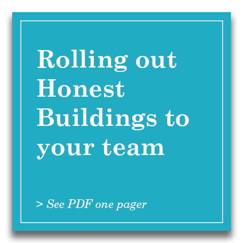 Rolling out Honest Buildings to your team