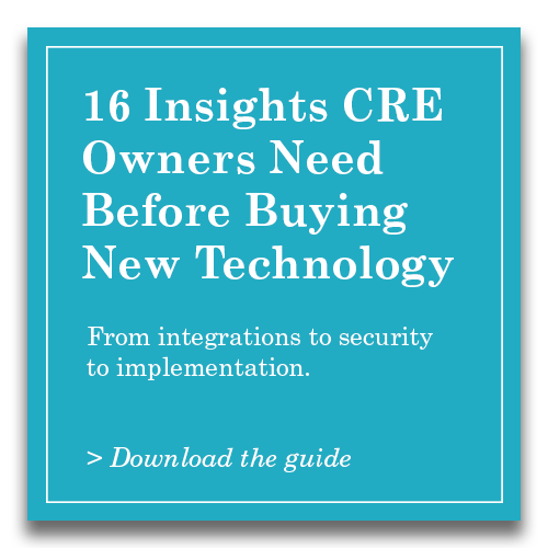 16 Insights CRE Owners Need Before Buying New Tech